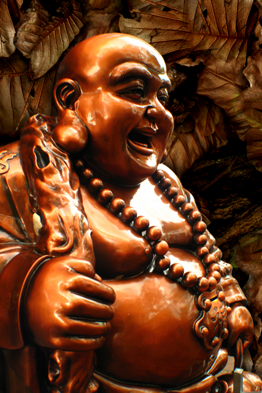The Laughing  Lucky Buddha A stroke of Luck 413428647